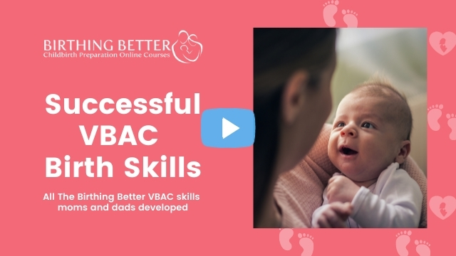 Successful VBAC Birth Skills